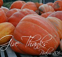 Give Thanks by Sue Ellen Thompson