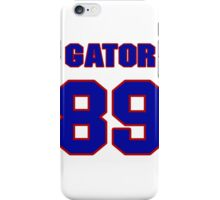 National football player Gator Hoskins jersey 89 iPhone Case/Skin