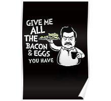 Bacon & Eggs Poster