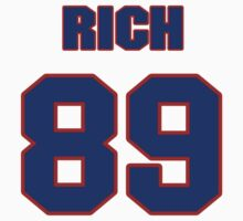 National football player Rich Martini jersey 89 T-Shirt