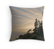 Trail to the End of the World Throw Pillow