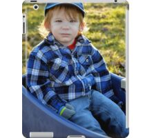 Golden-haired Boy iPad Case/Skin