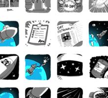 Space Oddi-Tee Sticker