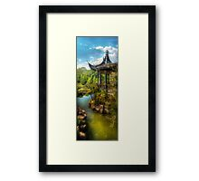 From a Chinese Fairytale Framed Print