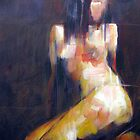 Liz Squared: Nude Cubist Impressionism by Samuel Durkin