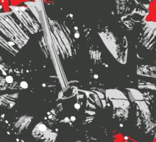 Black Samurai Sticker