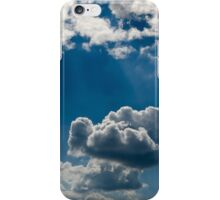 relief  beautiful clouds in during the late evening iPhone Case/Skin