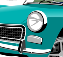 MG Midget Mark III RWA aqua blue Sticker