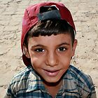 Egyptian Boy at Karnak by carlacarlacarla