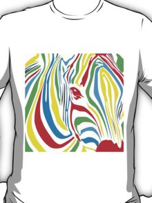 Pop Art Zebra T-Shirt