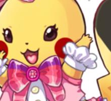 Cosplay Pikachu Sticker