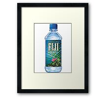 FIJI WATER Framed Print