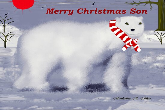 MERRY CHRISTMAS ~ SON by Madeline M  Allen