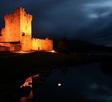Night at Ross Castle by John Quinn