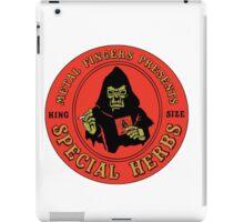 MF DOOM Special Herbs Tee iPad Case/Skin