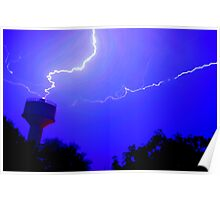 Thundering And Lightning Poster