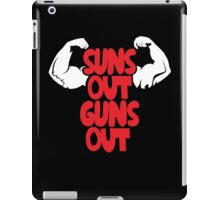 Jump Street Suns Out Guns Out  iPad Case/Skin