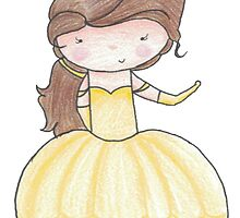 Belle - Ball gown by mbryant89