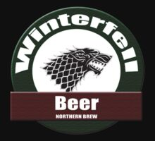 Winterfell Beer T-shirt : Game of Thrones Bier Clothing T-Shirt