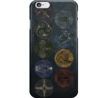 Skyrim City Seals iPhone Case/Skin