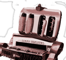 Stray Toasters band T shirt Sticker