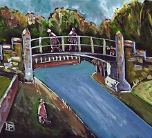 The iron bridge by sword