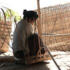 Myanmar weaving magic by Denzil