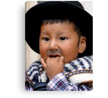Cuenca Kids 576 Canvas Print