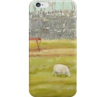 Drystone Wall and Sheep iPhone Case/Skin