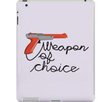 Weapon of Choice iPad Case/Skin