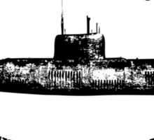 Vintage Submarine Design Sticker
