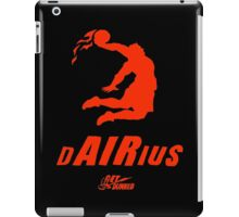 Darius get dunked red iPad Case/Skin
