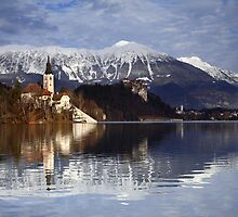 Lake Bled by Scott Harding