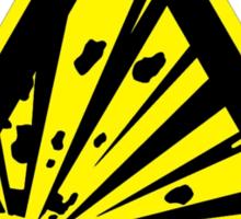 Creeper: Highly Explosive Sticker