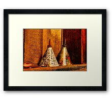 """Left On The Shelf"" Framed Print"