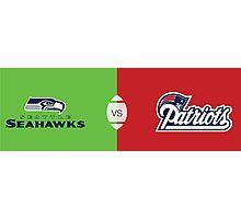 Super Bowl XLIX - 2015 - New England vs Seattle Photographic Print