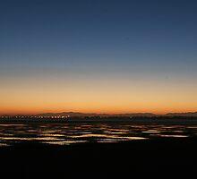 Sunset by hazy