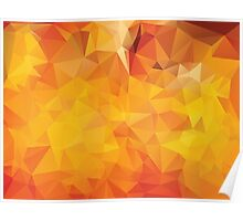 Vibrant Colorful Background 4 Poster
