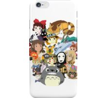 Studio Ghibli Collage iPhone Case/Skin