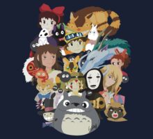 Studio Ghibli Collage by DisturbedXui