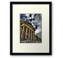 Edmonton Legislature Building Framed Print