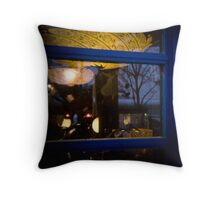 A shop window by the way. Throw Pillow