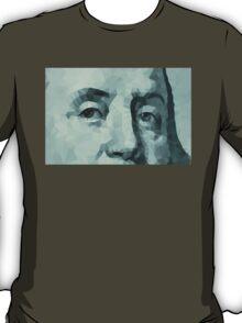 Benjamin Franklin closeup T-Shirt