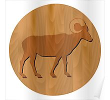 Zodiac Sign - Goat Year Poster