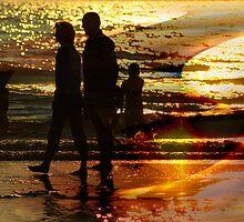 Beach walk by CanDuCreations