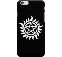 Supernatural - Demon Possession Protection [WHITE] iPhone Case/Skin