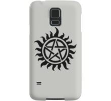 Supernatural Demon Possession Protection [BLACK] Samsung Galaxy Case/Skin
