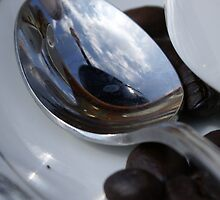 Coffee Reflection by Christine King