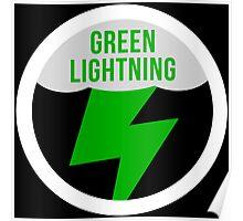 Green Lightning Poster