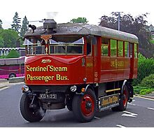 Steam Bus II Photographic Print